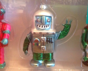Tree Ornaments space robot