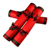 6-Hand-Made-Christmas-Crackers-Red-Tartan-Ultimate-in-Luxury-Christmas-Crackers-0-0