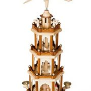 BRUBAKER-Wooden-Christmas-Pyramid-Four-Levels-60-cm-high-Hand-painted-Figures-0