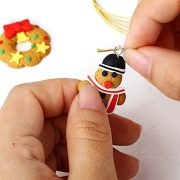 Bei-wang-Lovey-Mini-Snowman-Snowflakes-Christmas-trees-People-Elk-Wreaths-for-Christmas-Tree-Decorations-or-Keychain-0-2