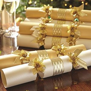 Box-of-12-Luxury-Hand-Finished-Contemporary-Christmas-Xmas-Crackers-Gift-0