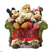 Disney-Traditions-Santa-With-Mickey-And-Minnie-Figurine-0