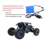 Hugine-Rock-Crawler-RC-Car-118-Off-Road-Vehicle-4x4-Fast-Race-Car-High-Speed-Dune-Buggy-Remote-Control-Monster-Truck-24GhzBlue-0-1