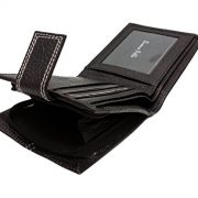 Mens-DESIGNER-BUONO-PELLE-Black-Leather-Wallet-With-Secure-Zip-Coin-Pocket-ID-Window-Gift-Boxed-0-0