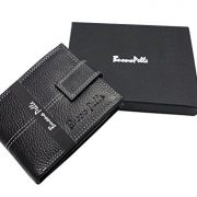 Mens-DESIGNER-BUONO-PELLE-Black-Leather-Wallet-With-Secure-Zip-Coin-Pocket-ID-Window-Gift-Boxed-0-1