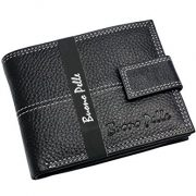 Mens-DESIGNER-BUONO-PELLE-Black-Leather-Wallet-With-Secure-Zip-Coin-Pocket-ID-Window-Gift-Boxed-0-2