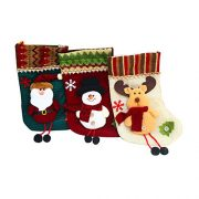 Set-of-3-Styles-11-Christmas-Tree-Hanging-Xmas-Decoration-Sock-Santa-Claus-Snowman-Stocking-Gift-0