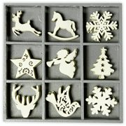 cArt-Us-105-x-105-cm-Wooden-Box-with-45-Christmas-Ornaments-Natural-0